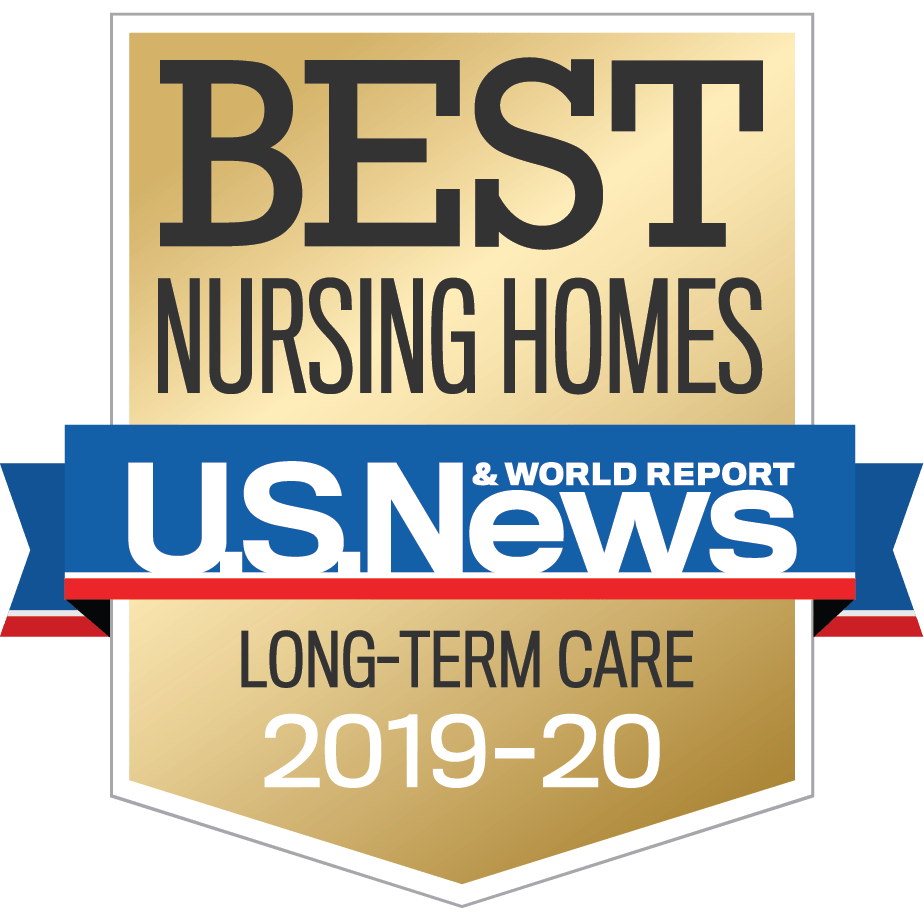 Best Nursing Homes U.S. News badge 2019-2020